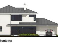 DOM.PL™ - Projekt domu PE Przemek CE - DOM NS1-31 - gotowy koszt budowy Dom, Shed, Outdoor Structures, My Dream House, Build House, Barns, Sheds