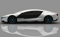 The Audi A9 Concept Car by Daniel Garcia trendhunter.com