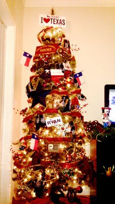 My Texas Christmas Tree =)