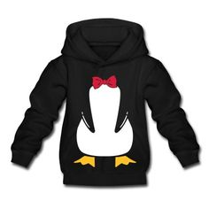 penguin with bow tie Hoodie | Spreadshirt | ID: 24060385. Yes, I would wear this.