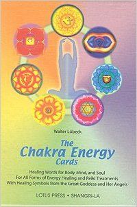 Chakra Energy Cards, The Book and Card Set: Walter Luebeck: 9780914955726: Amazon.com: Books