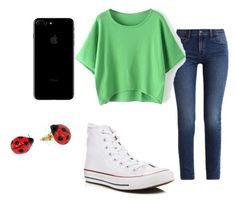 """Untitled #15"" by moustachedino1 on Polyvore featuring Calvin Klein, Converse and Nach Bijoux"