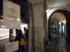 Da via Altinate ora è possibile partire verso nuove mete, quelle erranti.  Poetic stop on Padova by Lo Stendiversomio