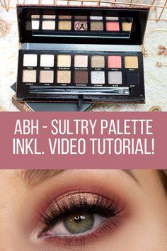Anastasia Beverly Hills Sultry Eyeshadow Palette - Review , Swatches, Augen Make Up und Video Tutorial zu diesem Make Up Look.
