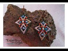 Vega Earrings with Ava Beads