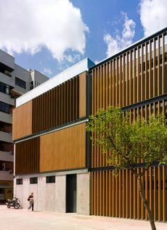 Actur Library and Elderly Centre /  Carroquino Finner Arquitectos,  ZARAGOZA - Spain