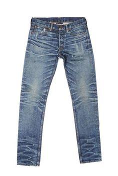 John Elliott + Co. - The Cast in Nimbus Wash Selvedge Denim Jeans