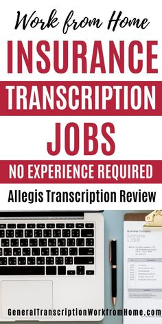 Allegis Transcription has work at home freelance transcription jobs, They are hiring both entry-level & experienced work from home transcriptionists. They have plenty of work. You'll transcribe audio files for insurance companies, legal industries and businesses. #transcription #transcriptionwork #transcriptionjobs #insurancetranscription #onlinejobs #remotejobs #workathomejobs #workfromhome #sidehustles