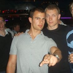 I'll take Theo and his friend