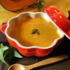 Homemade Creamy Pumpkin Soup @ http://allrecipes.com.au