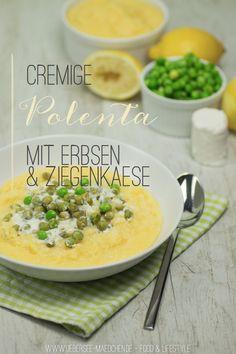 Polenta kochen extra cremig und mit Lorbeerblatt aromatisiert | Creamy vegetarian Polenta