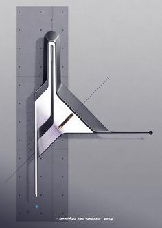 Doeke de Walle on Behance Form Design, Shape Design, Design Elements, Modern Design, Detail Design, Art Studio Design, Industrial Design Sketch, Interior Sketch, Cool Sketches
