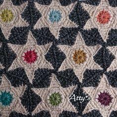 Stonewashedstars_Star hexagon blanket... Free pattern!