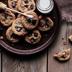 Honey Chocolate Chunk Cookies - Home - Pastry Affair