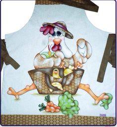 Avental galinha