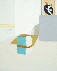 ESCRIPTORI. Oil on canvas, 33 x 41 cm (2013)