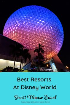 Find out which hotels are the best Disney World resorts in each price category and what to expect from each Disney World Resort category. Disney Resorts List, Best Disney World Resorts, All Disney Parks, Disney Resort Hotels, Disney World Florida, Best Resorts, Disney World Trip, Disney Vacations, Disney Trips