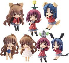 Toradora! Toysworks Collection Niitengo Trading Figures Box