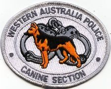 WESTERN AUSTRALIA POLICE CANINE SECTION