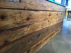 Bancone legno grezzo