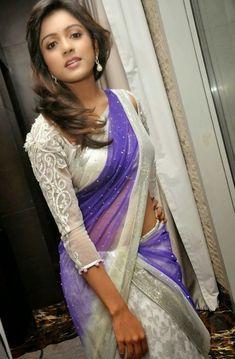 Actress Vithika Sheru In White Half Saree Hot Navel Photos Stills Beautiful Heroine, Beautiful Actresses, Beautiful Girl In India, Most Beautiful Women, Saree Navel, Celebrity Gallery, Cute Girl Photo, Half Saree, Saree Styles