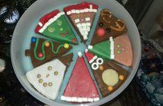 8 décos de Noël en 1 seul gâteau ... de 8 parts Cookies, Desserts, Food, Birthday, Crack Crackers, Tailgate Desserts, Deserts, Biscuits, Essen