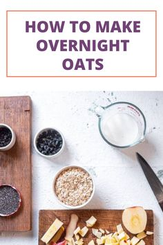 An Easy Guide on How To Make Overnight Oats. #overnightoats #breakfastrecipe #breakfastideas #familyrecipe #familybreakfastideas Nutritious Breakfast, Breakfast Recipes, 8 Month Old Baby Food, Baby Meal Plan, Calorie Dense Foods, Toddler Finger Foods, Baby Breakfast, Healthy Baby Food, Baby Recipes