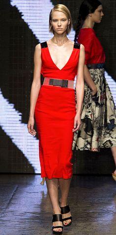 Runway Looks We Love: New York Fashion Week - Spring/Summer 2015 from #InStyle - Donna Karen
