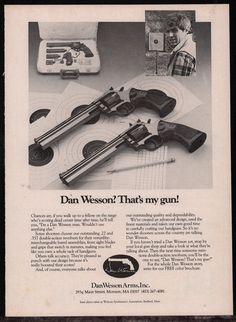 Dan Wesson 1981 .22 Revolver Flyer