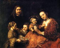 Rembrandt van Rijn, Portrait de famille, vers 1667, Braunschweig, Herzog Anton Ulrich Museum.