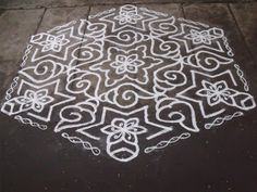 Rangoli designs/Kolam: S.No. 64 :-25-13 pulli kolam - interlaced dots kolam