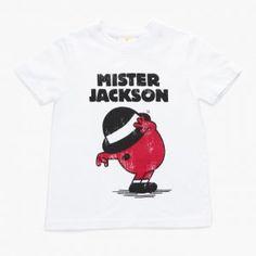 Mr Michael Jackson Kids T-shirt | Kidinc