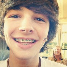 Hot with braces and dimples.........Where can i find him?