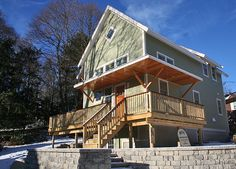 SLR Architecture - New home construction on the South Shore. Green living, and not just the color.