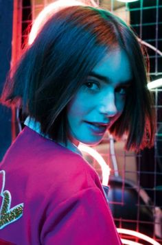 Back to School con Lily Collins