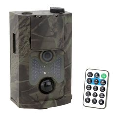 LIXADA 120�� Wide Lens Portable Wildlife Investigation Camera 12MP HD Digital Infrared Scouting Trail Camera 940NM IR LED Night Vision 1080P Video Recorder