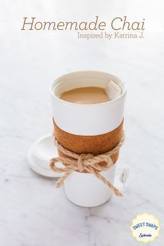 Try this recipefor a chai latte inspired by our fan, Katrina J., it'll warm you up as the weather cools down. Add a personal touch to your cup with this DIY coozie.