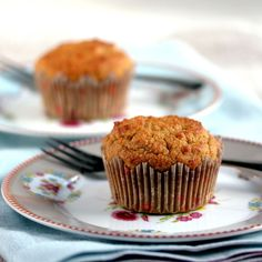 The Best Low-Carb Pumpkin Spice Muffins (Dairy-Free) - Low-Carb, So Simple! - Gluten-Free, Sugar-Free Recipes with 5 Ingredients or Less Low-Carb, So Simple! — gluten-free, sugar-free recipes with 5 ingredients or less Low Carb Sweets, Low Carb Desserts, Low Carb Recipes, Diabetic Desserts, Ketogenic Desserts, Healthy Recipes, Diabetic Recipes, Cream Cheeses, Low Carb Bread