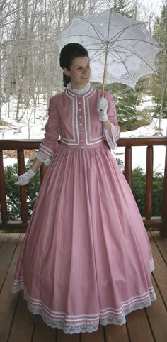 "I love this website - gorgeous ""old fashioned"" clothes - civil war era, Victorian, hats, gloves, etc"