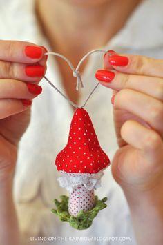 Живущая на Радугe: елочная игрушка / christmas ornament