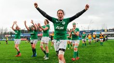 August 10 2017 - Hosts Ireland beat Australia in epic Women's Rugby World Cup encounter