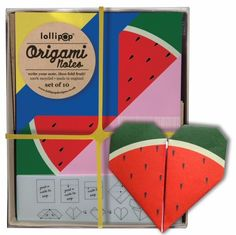 Lollipop Designs uitnodigingen watermeloen 10 stks