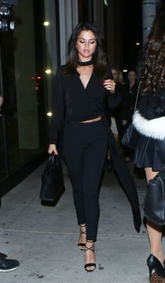 December 3: Selena arriving at Catch LA Restaurant in West Hollywood, California [HQs]