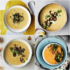 Neljä kultaista soppaa, jotka houkuttavat juuri nyt   Soppa365 Cheeseburger Chowder, Hummus, Soup, Ethnic Recipes, Soups