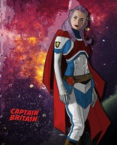I haven't picked up a Marvel comic in years, but this fantastic redesign and re-purpose for Betsy is great. I'm in Excalibur, well done. Psylocke, Marvel Women, Gal Gadot, Xmen, Pose Reference, Marvel Universe, Marvel Comics, Deadpool, Britain