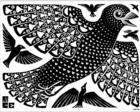 Birds, 1926  M.C. Escher