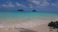 Lanikai Beach in Kailua, HI