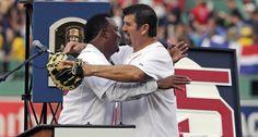 Medias Rojas de Boston retiran el número 45 de Pedro Martínez