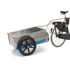 Aluminum, nylon rims, steel connecting parts, rubber handles. Volume 150 l. , Height 59 cm. , Length 1. 44... - Collapsible Aluminum Transport Cart