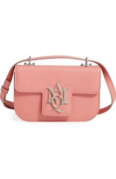 Alexander McQueen Calfskin Leather Crossbody Bag available at #Nordstrom